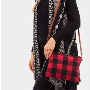 Handbags - Plaid [Convertible] Wristlet / Shoulder Bag